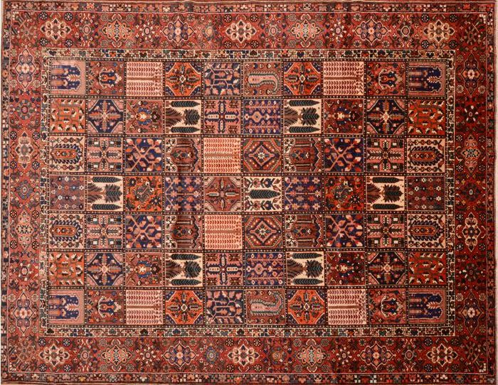 The Bakhtiari Rug A Persian Gem