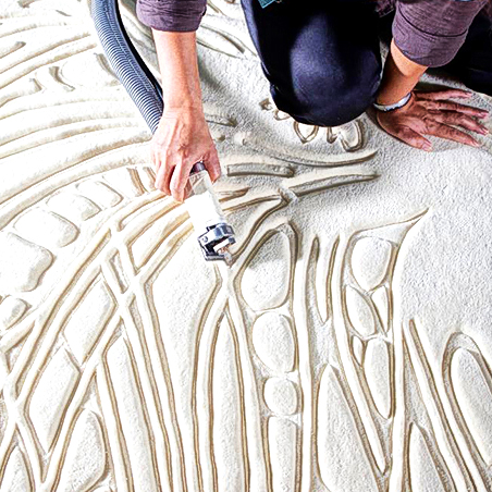Hand Carved Rugs rugs