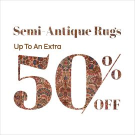 Woven Heritage Sale - Semi- Antique Rugs