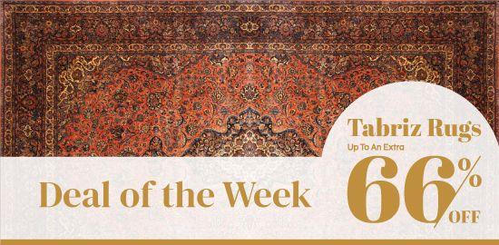 Woven Heritage Sale - Deal of the Week -Tabriz Rugs
