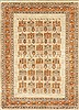 Chobi Beige Hand Knotted 42 X 60  Area Rug 100-10505 Thumb 0