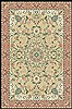 Tabas Beige Hand Knotted 39 X 69  Area Rug 100-10509 Thumb 3
