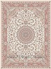 Tabas Beige Hand Knotted 39 X 69  Area Rug 100-10509 Thumb 4
