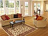 Jaipur White Hand Knotted 40 X 60  Area Rug 100-10526 Thumb 5
