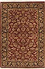 Jaipur Red Hand Knotted 40 X 60  Area Rug 100-10533 Thumb 0