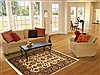 Jaipur White Hand Knotted 40 X 60  Area Rug 100-10545 Thumb 5