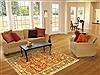 Jaipur Red Hand Knotted 40 X 60  Area Rug 100-10546 Thumb 5