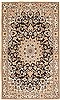 Nain Blue Hand Knotted 311 X 66  Area Rug 100-10565 Thumb 0
