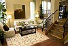 Kashan Beige Hand Knotted 80 X 99  Area Rug 100-10579 Thumb 3