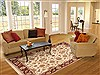 Ziegler Beige Hand Knotted 80 X 100  Area Rug 100-10584 Thumb 4