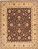 Chobi Brown Hand Knotted 711 X 102  Area Rug 100-10585 Thumb 0
