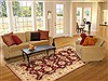 Chobi Red Hand Knotted 60 X 89  Area Rug 100-10594 Thumb 4