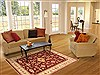 Chobi Red Hand Knotted 55 X 80  Area Rug 100-10601 Thumb 4