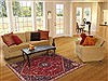 Qashqai Red Hand Knotted 50 X 80  Area Rug 100-10633 Thumb 4