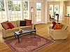 Mood Red Hand Knotted 53 X 83  Area Rug 100-10641 Thumb 4