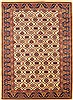 Kazak Beige Hand Knotted 46 X 60  Area Rug 100-10644 Thumb 0