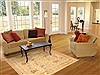 Pak-Persian Beige Hand Knotted 40 X 62  Area Rug 100-10647 Thumb 9