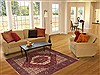 Gholtogh Red Hand Knotted 41 X 64  Area Rug 100-10648 Thumb 5