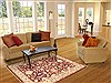 Chobi Red Hand Knotted 40 X 511  Area Rug 100-10653 Thumb 5