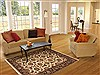 Jaipur Beige Hand Knotted 40 X 60  Area Rug 100-10657 Thumb 5