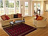 Turkman Red Hand Knotted 40 X 59  Area Rug 100-10665 Thumb 5