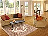 Isfahan Beige Hand Knotted 43 X 65  Area Rug 100-10676 Thumb 5