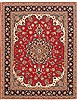 Tabriz Red Hand Knotted 50 X 66  Area Rug 100-10682 Thumb 0