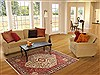 Abadeh Beige Hand Knotted 50 X 68  Area Rug 100-10684 Thumb 5