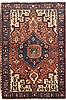 Nahavand Red Hand Knotted 46 X 69  Area Rug 100-10701 Thumb 0