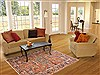Nahavand Red Hand Knotted 49 X 69  Area Rug 100-10702 Thumb 5