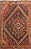 Qashqai Blue Hand Knotted 43 X 66  Area Rug 100-10706 Thumb 0