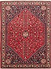 Abadeh Red Hand Knotted 50 X 69  Area Rug 100-10707 Thumb 0