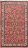 Sarouk Red Hand Knotted 48 X 70  Area Rug 100-10709 Thumb 0