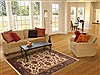Jaipur Beige Hand Knotted 50 X 70  Area Rug 100-10718 Thumb 5