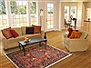 Nahavand Red Hand Knotted 52 X 82  Area Rug 100-10764 Thumb 4