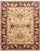 Pishavar Green Hand Knotted 88 X 1011  Area Rug 100-10768 Thumb 0