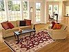 Karajeh Red Hand Knotted 62 X 93  Area Rug 100-10794 Thumb 4