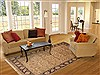 Jaipur Beige Hand Knotted 60 X 90  Area Rug 100-10796 Thumb 4