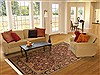 Jaipur Brown Hand Knotted 60 X 811  Area Rug 100-10807 Thumb 4