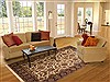Jaipur Brown Hand Knotted 60 X 90  Area Rug 100-10809 Thumb 4