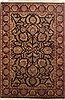 Jaipur Black Hand Knotted 63 X 92  Area Rug 100-10813 Thumb 0