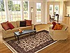 Jaipur White Hand Knotted 60 X 92  Area Rug 100-10828 Thumb 4