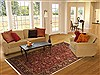 Jaipur Red Hand Knotted 60 X 89  Area Rug 100-10836 Thumb 4