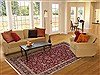Jaipur Red Hand Knotted 60 X 90  Area Rug 100-10846 Thumb 4