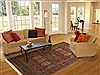 Jaipur Brown Hand Knotted 60 X 90  Area Rug 100-10847 Thumb 4