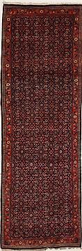 Persian Hamedan Blue Runner 10 to 12 ft Wool Carpet 10857