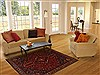 Abadeh Purple Hand Knotted 50 X 69  Area Rug 100-10865 Thumb 5
