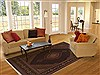 Tabriz Brown Hand Knotted 83 X 911  Area Rug 100-10887 Thumb 4