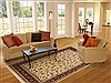 Sino-Persian Beige Hand Knotted 80 X 100  Area Rug 100-10897 Thumb 4