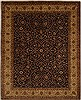 Jaipur Brown Hand Knotted 80 X 99  Area Rug 100-10898 Thumb 0